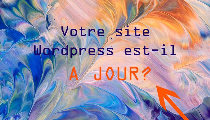 site WordPress à jour